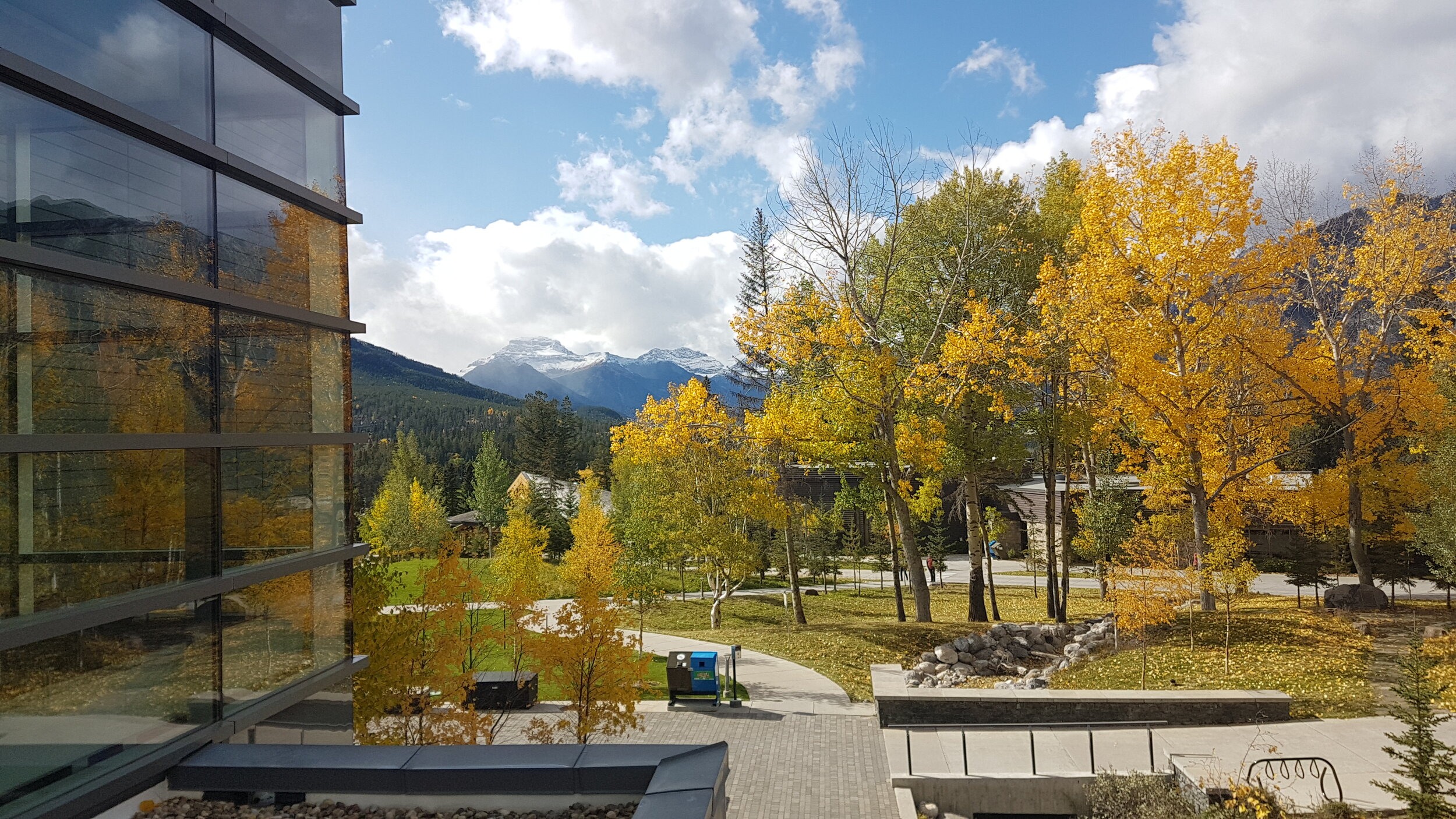 The Banff centre for the arts. Conference location for IPOS/CAPO