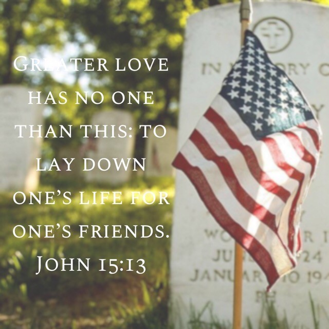 Let remember on this Memorial Day, those who paid the ultimate price for the freedom we so often overlook. Today, let us be grateful for their sacrifice.