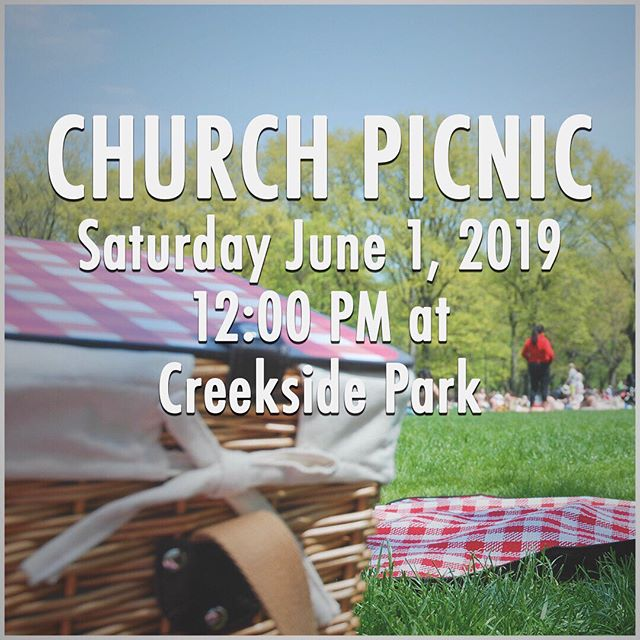 Happening right now!! Come join us at Creekside Park. Plenty of food and family!