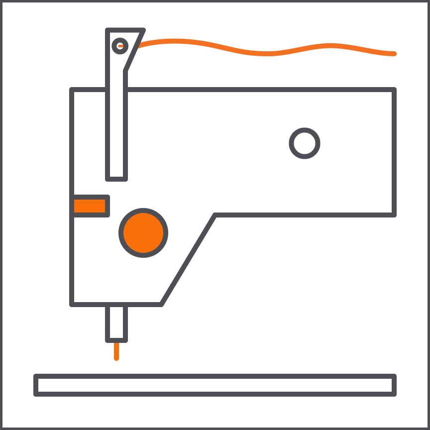Single Stitch Industrial Sewing    Juki DDI-8700