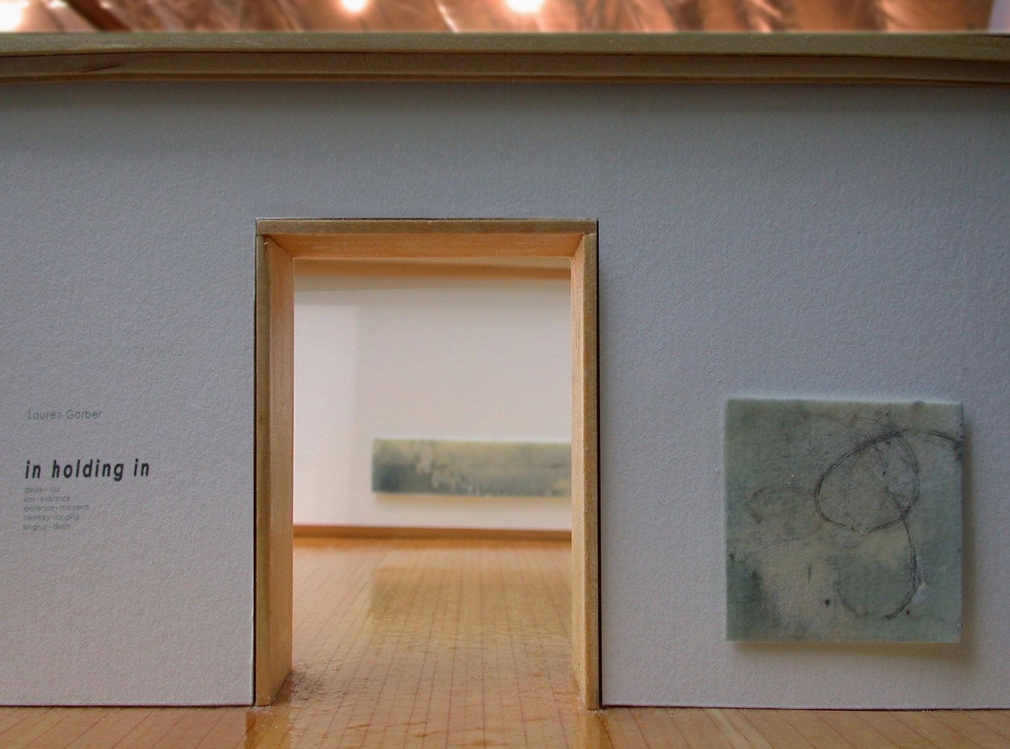 John Erikson Museum of Art , graphite, watercolor & wax on paper, 2004