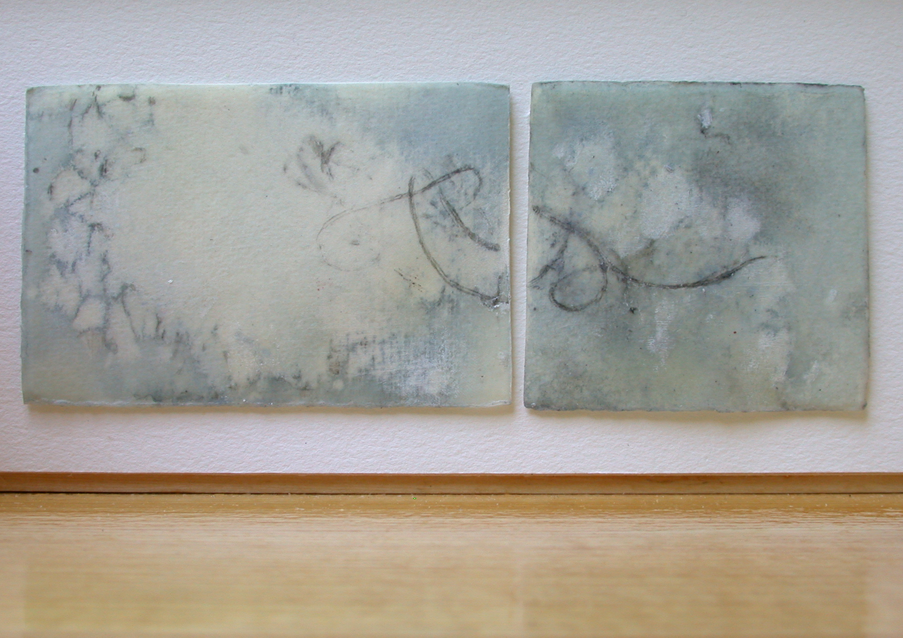 John Erikson Museum of Art , graphite, watercolor & wax on paper, 2004