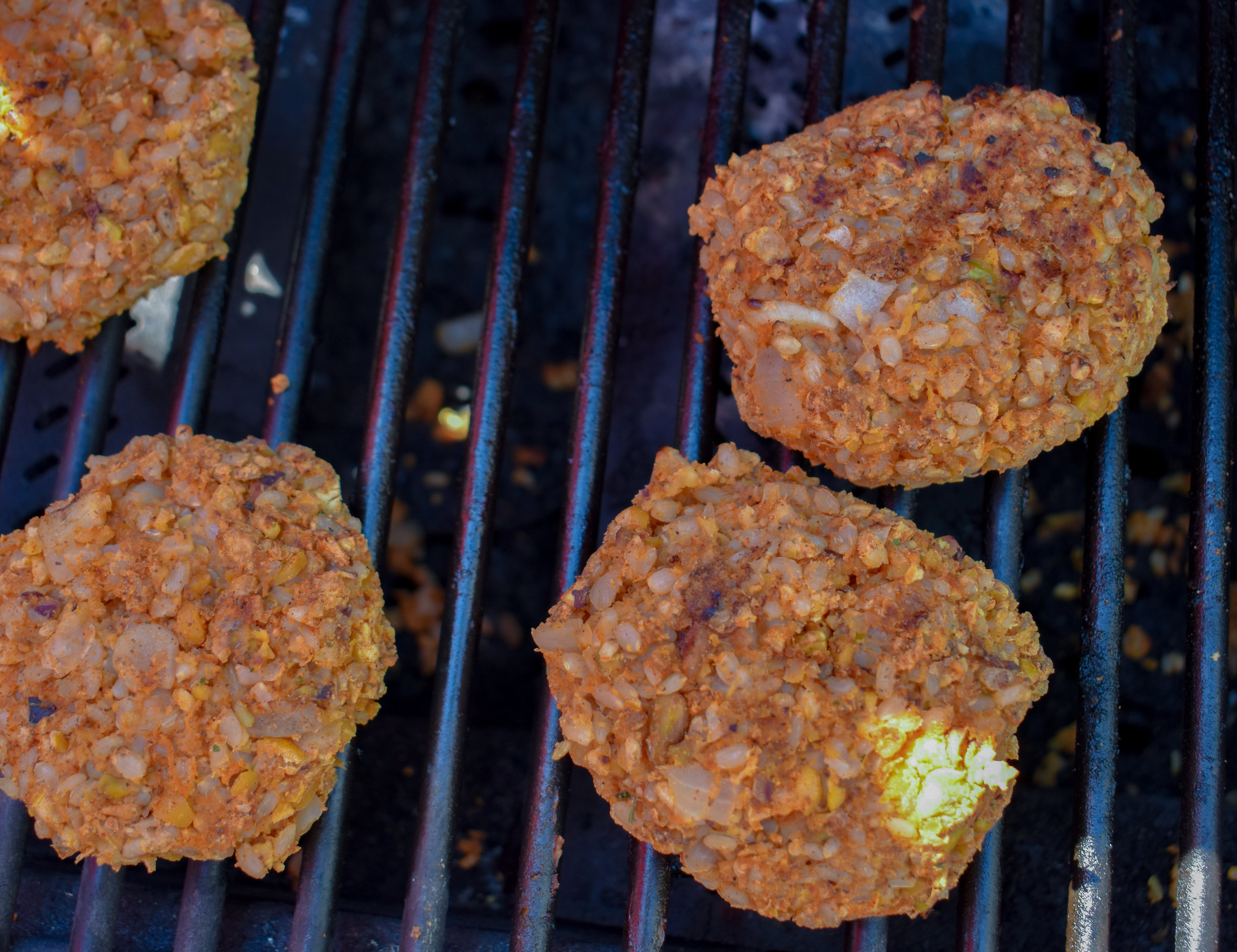 10. Cook burgers over medium heat on a preheated grill or over the stove top in a non-stick pan for 5-6 minutes on each side.