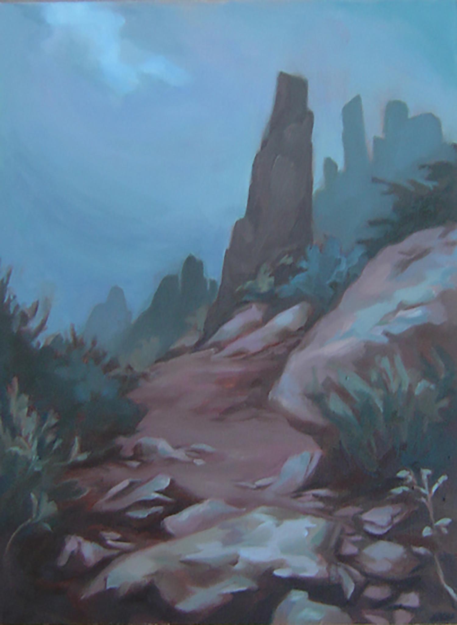Pima Indian Legend of the Stone Sentinels