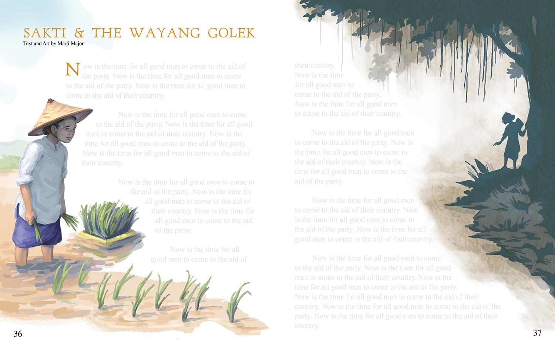 Sakti & the Wayang Golek