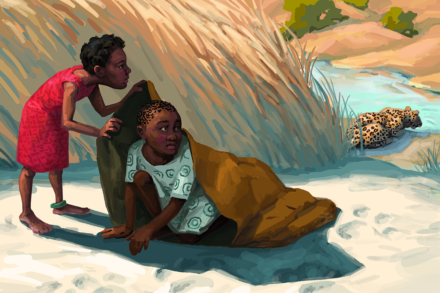 """From """"The Adventures of Tselane,"""" for The Core Knowledge Foundation"""