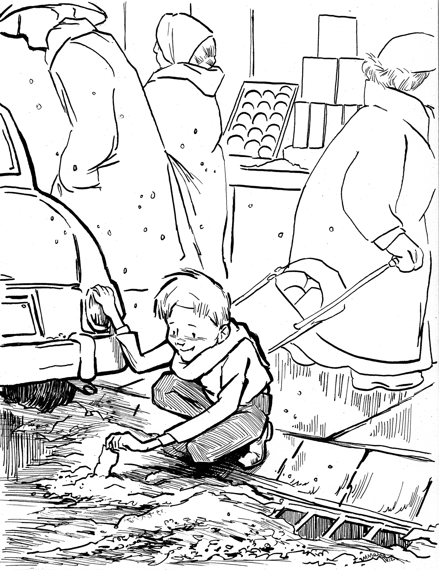 Charlie Bucket, from Charlie & the Chocolate Factory, Personal Piece