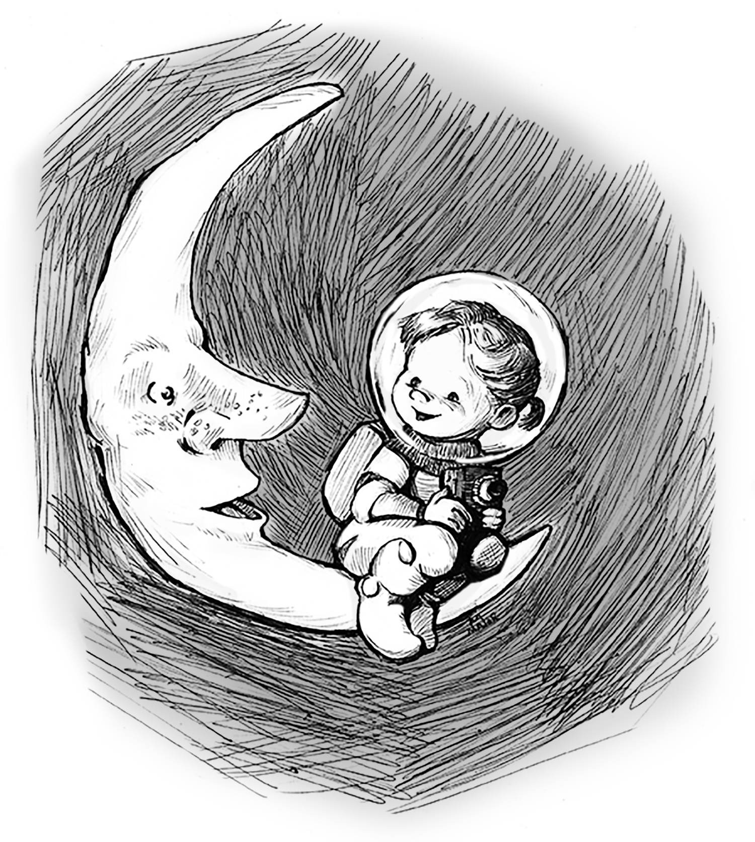 Lizzie & the Man on the Moon, Personal Piece