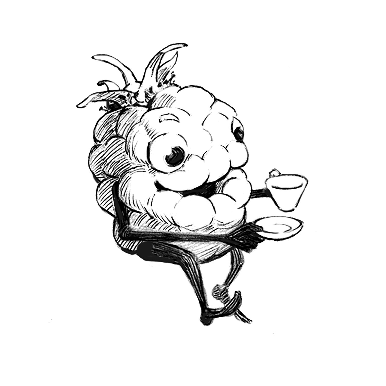 Raspberry Tea, Personal Piece