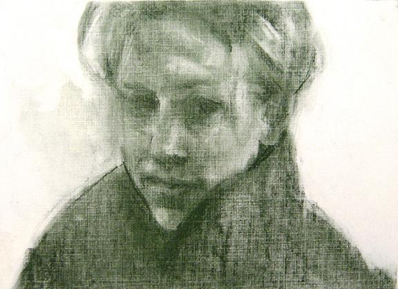 Lara A., Pastel Drawing