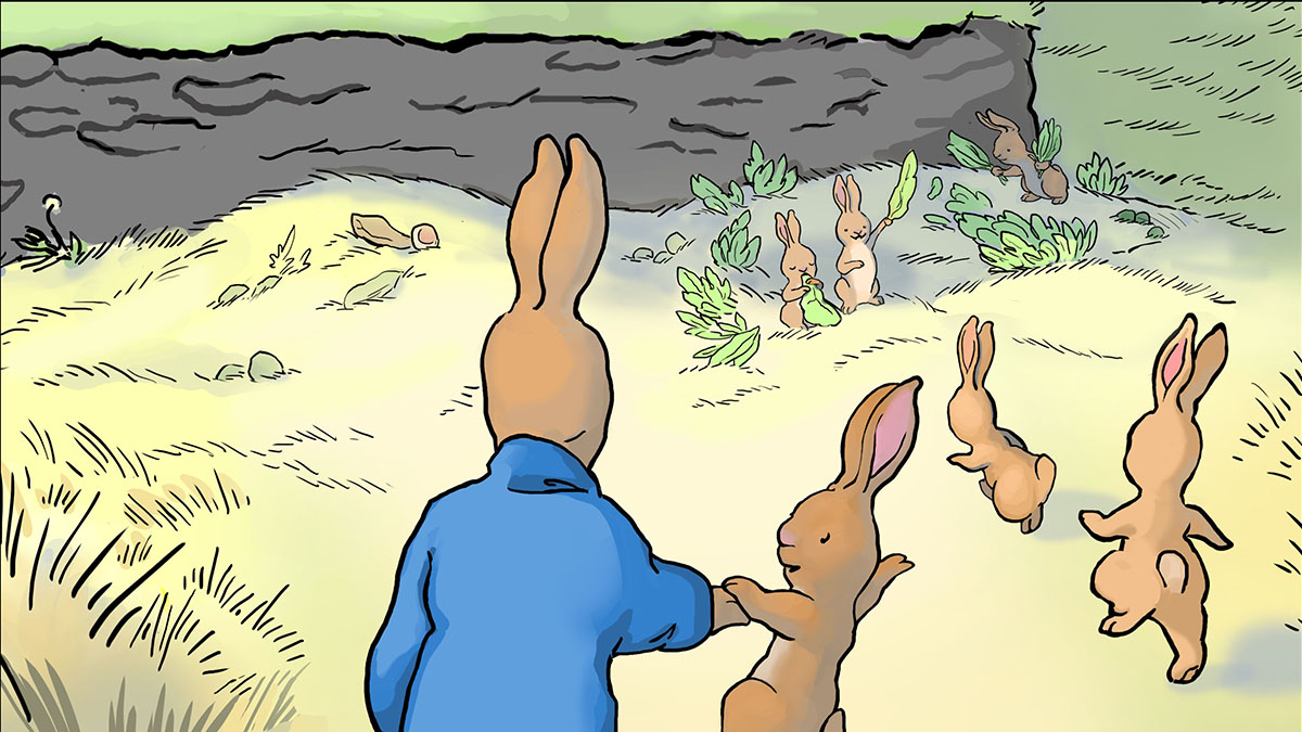 The Flopsy Bunnies by Beatrix Potter, for myRead