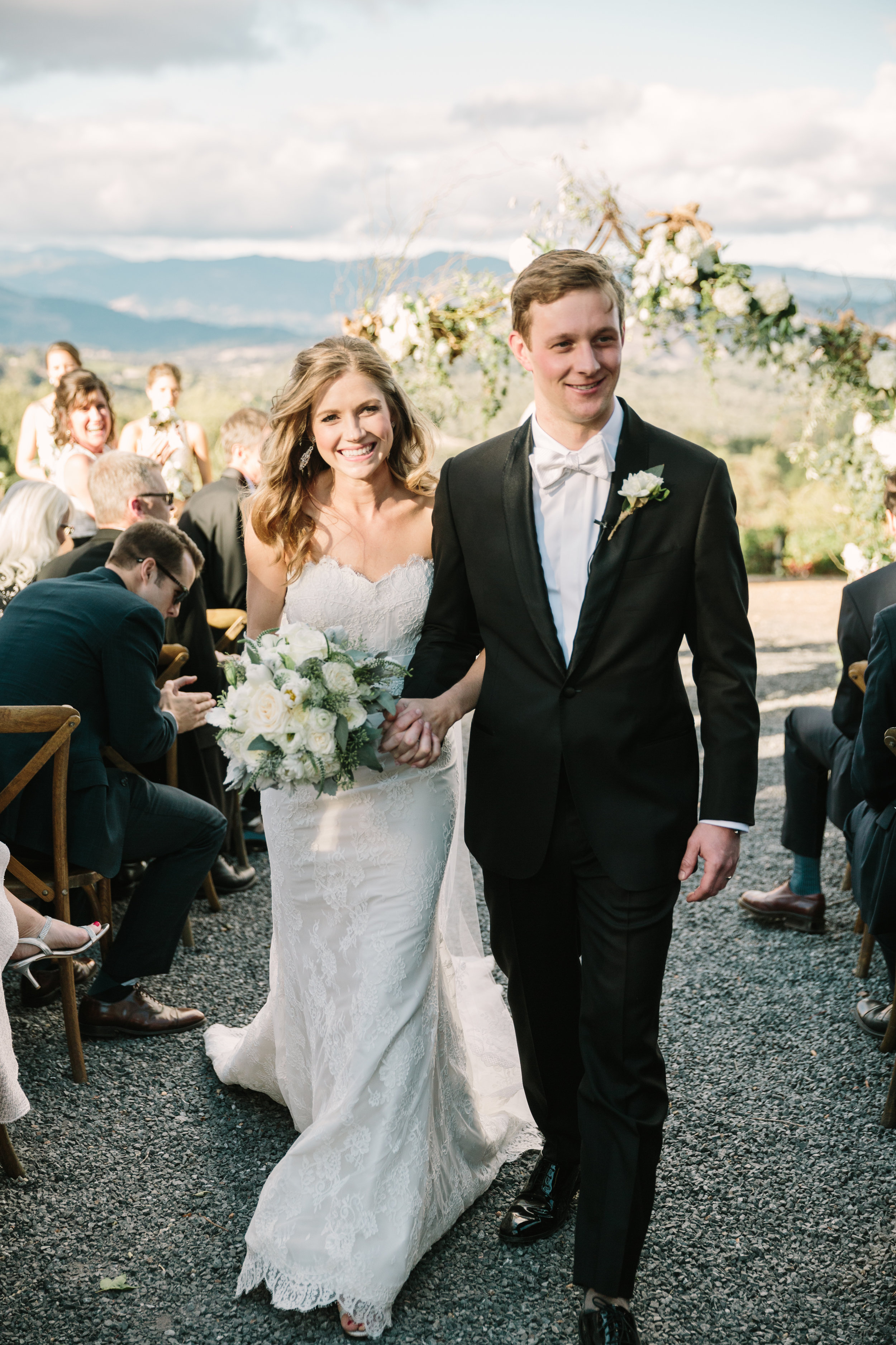 Chalk Hill Winery Wedding     View Gallery
