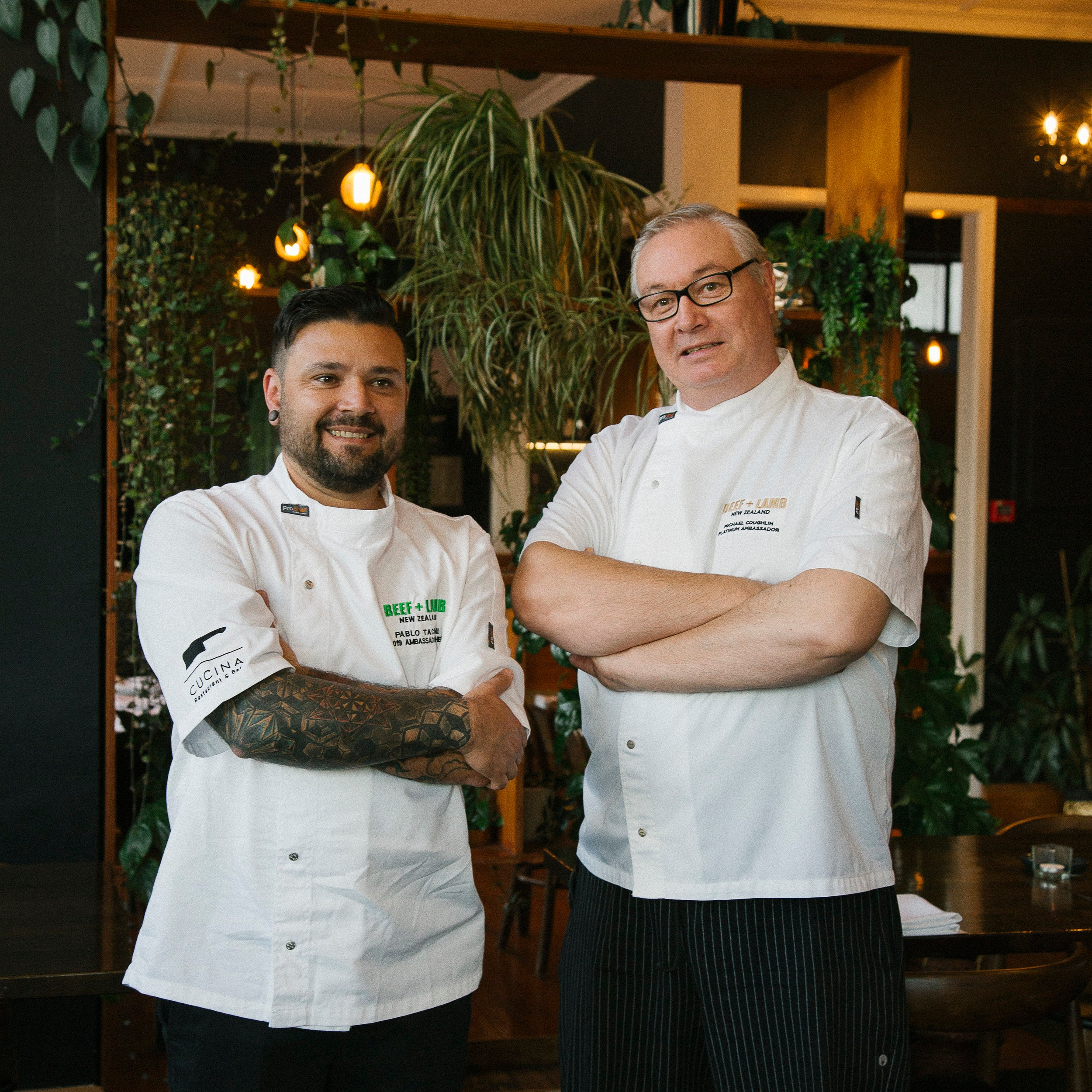 Chefs, Pablo Tacchini and Michael Coughlin