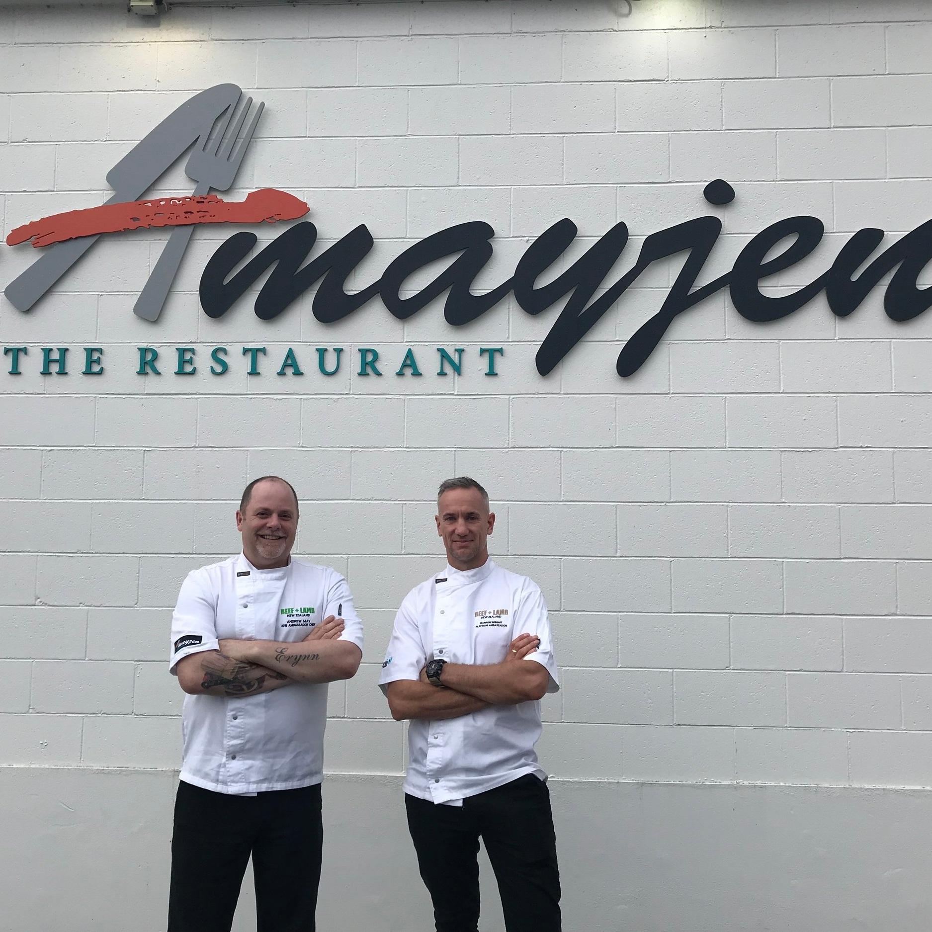 Chefs, Andrew May & Darren Wright