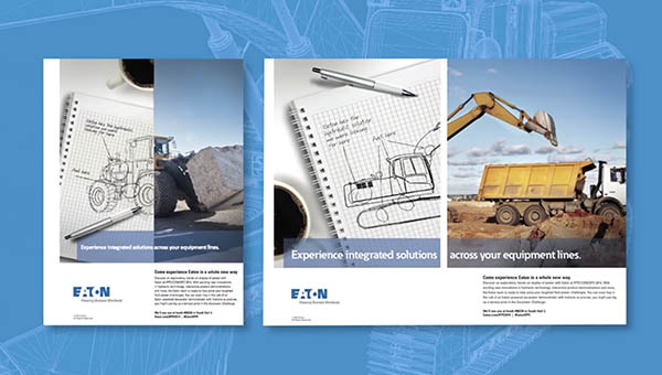 Eaton concepts in trade show collateral
