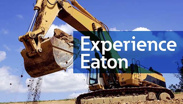 Experience Eaton trade show signage