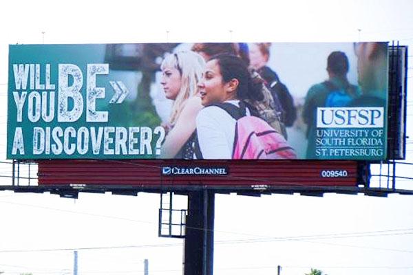 USFSP Billboard