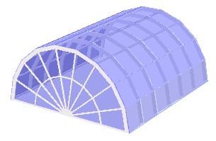 Segmented Barrel Skylights