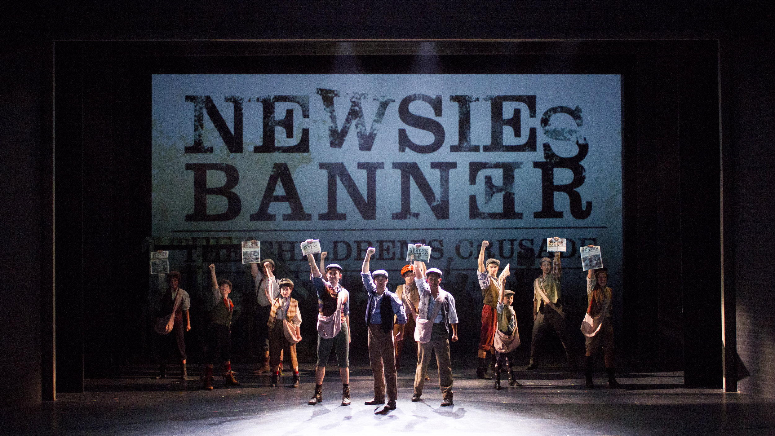 Newsies - projections