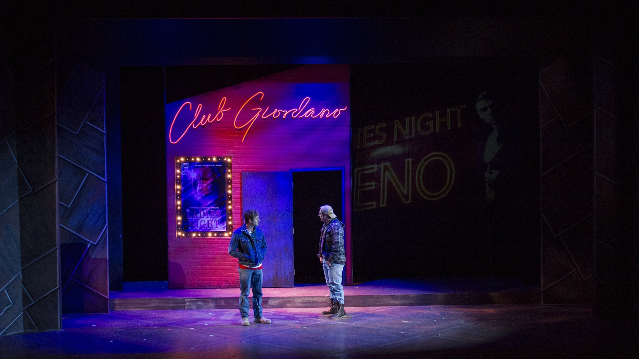 The Full Monty - lighting & projections