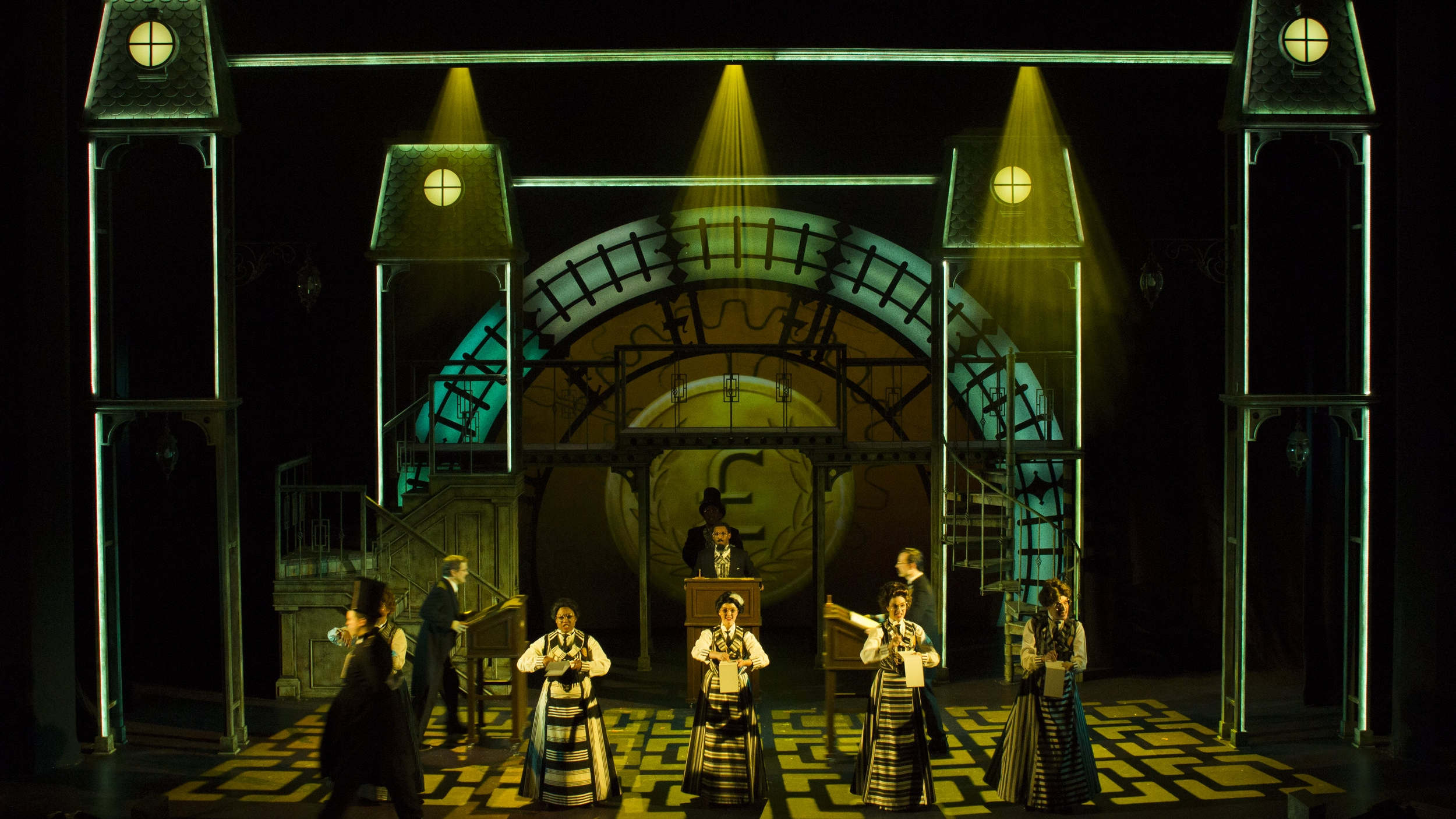 Mary Poppins - projections