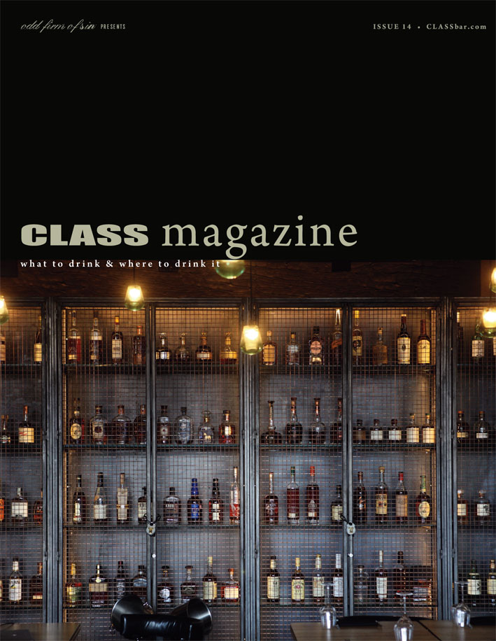 Class Bar (UK) Magazine - what to drink and where to drink it