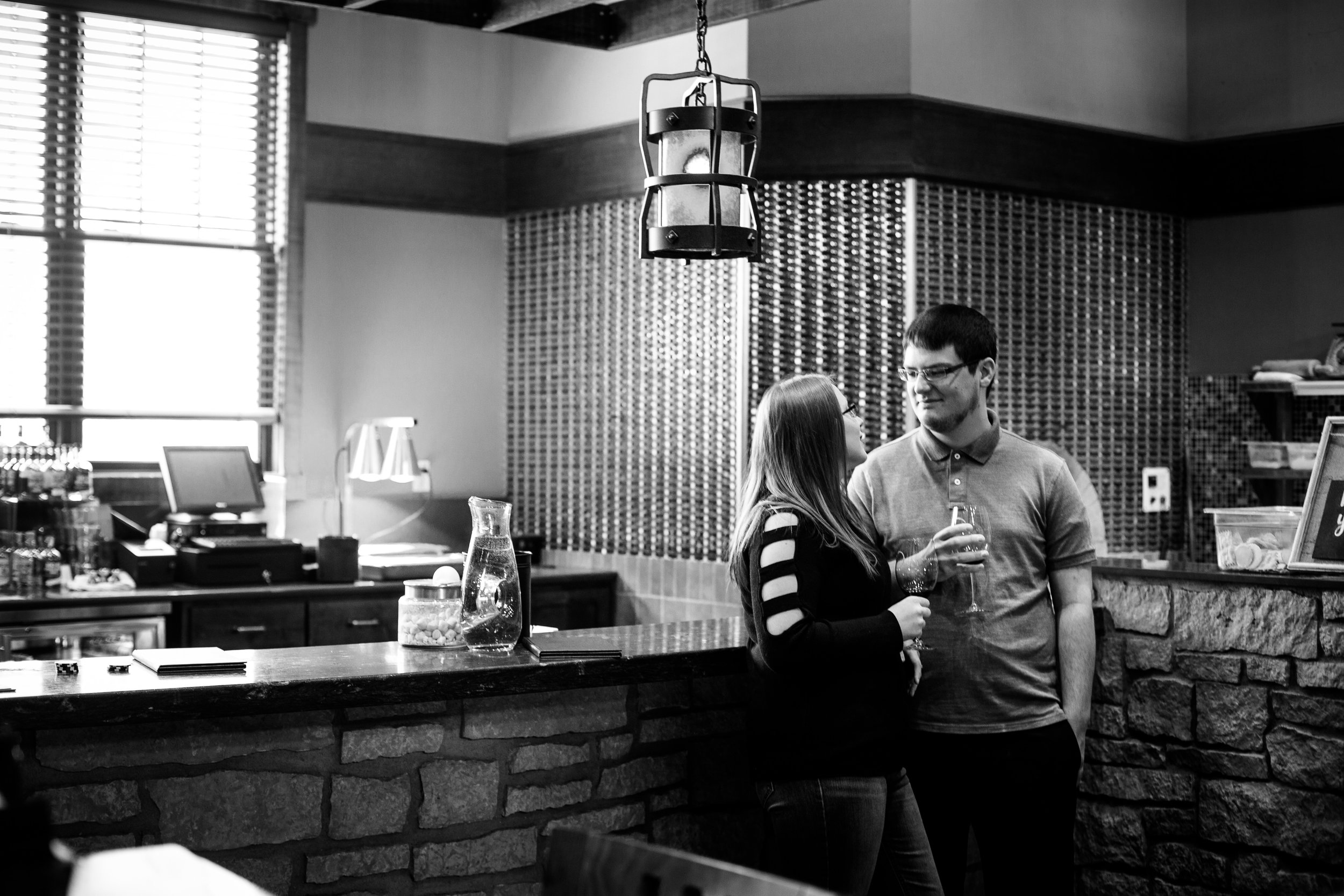 This couple enjoys exploring the different wineries in the area, so it was only natural for us to explore a couple during their session.