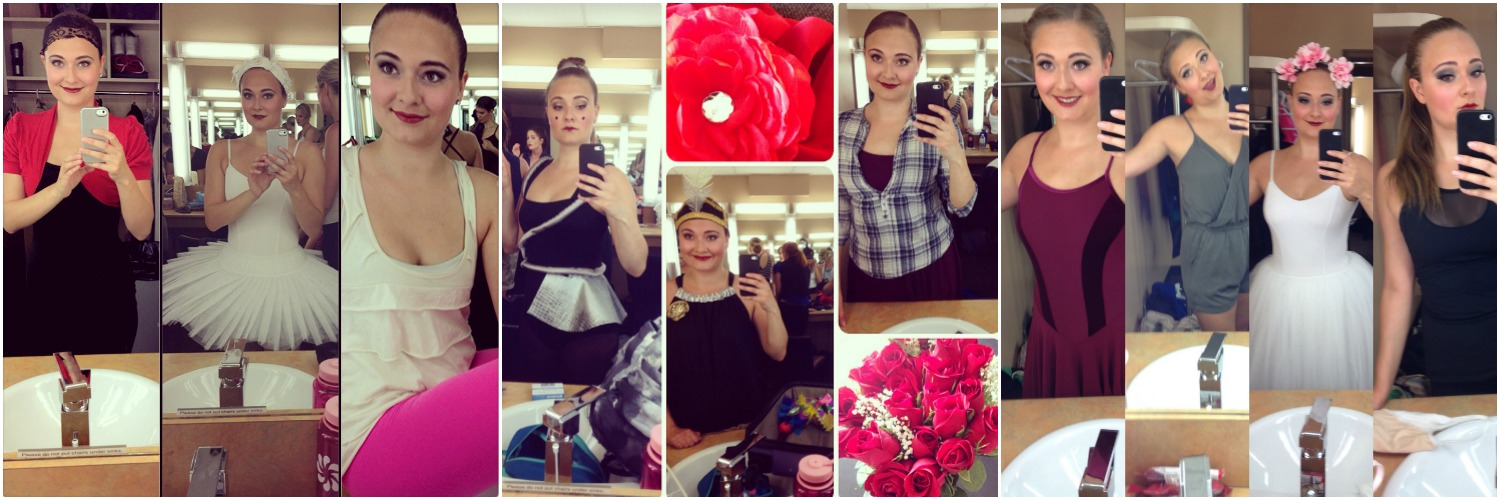 Pictures from my 2013, 2014, and 2015 recitals. #shamelessselfies