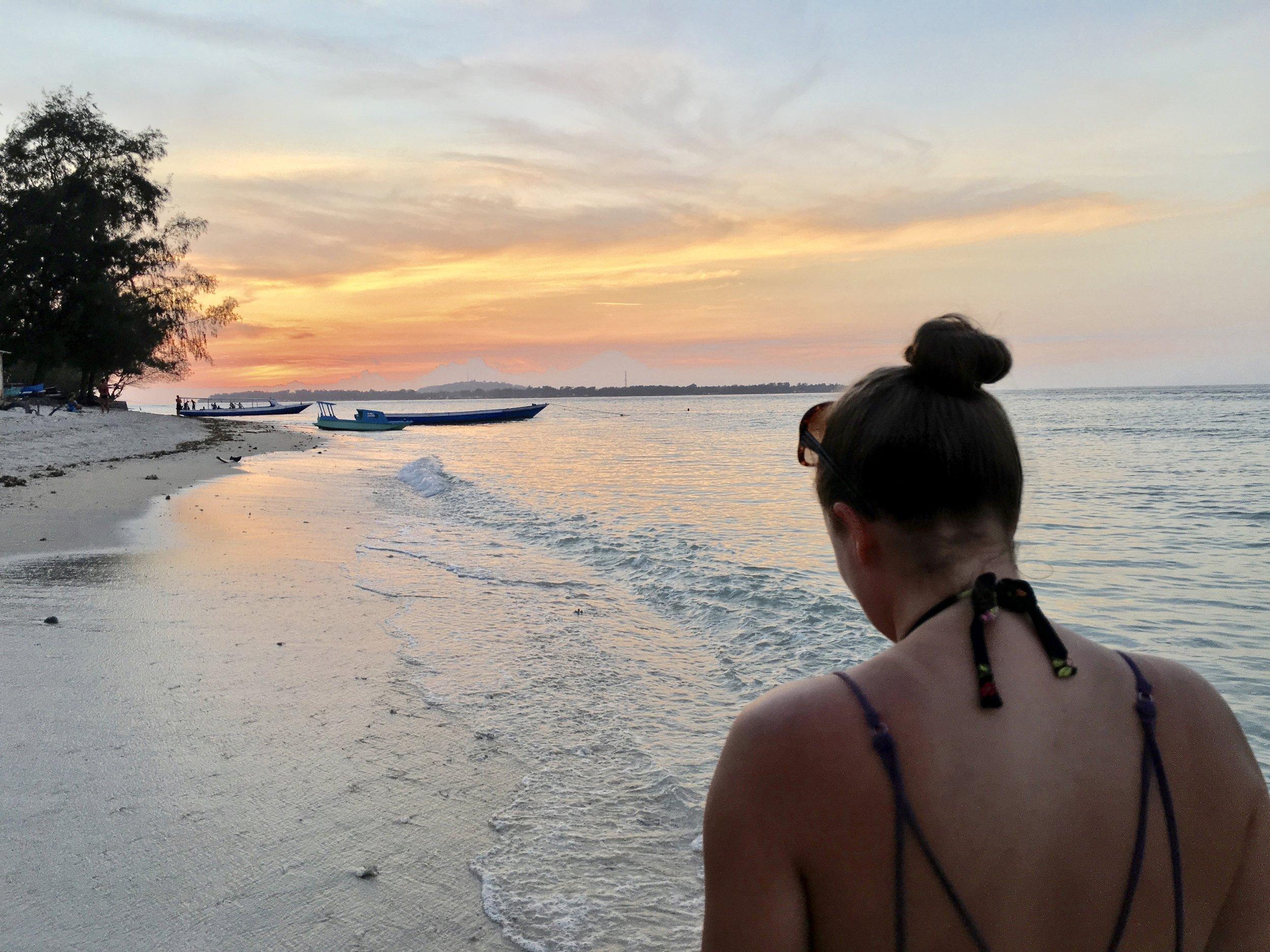 About Page Sunset Bali