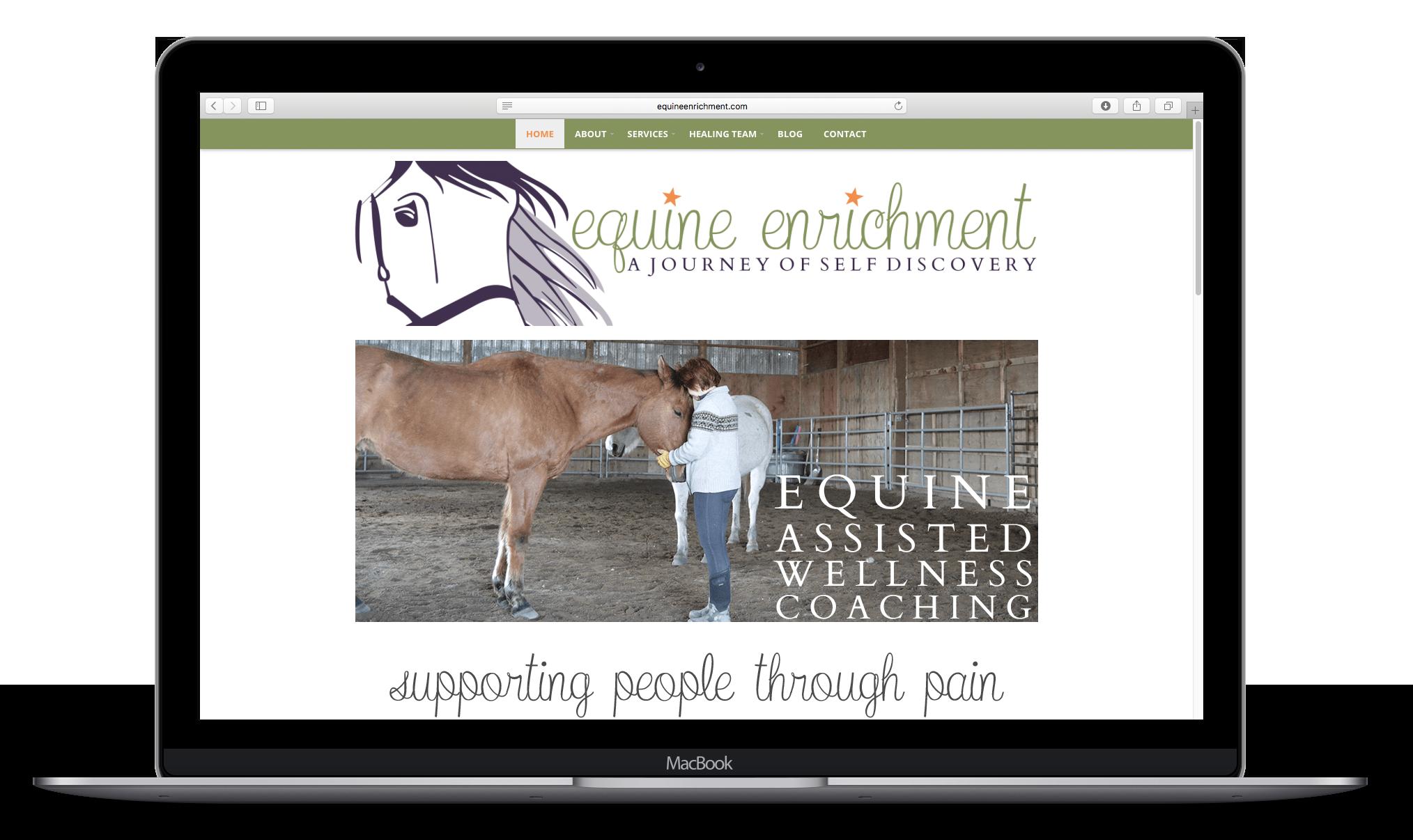 Equine Enrichment Homepage Macbook Mockup.png