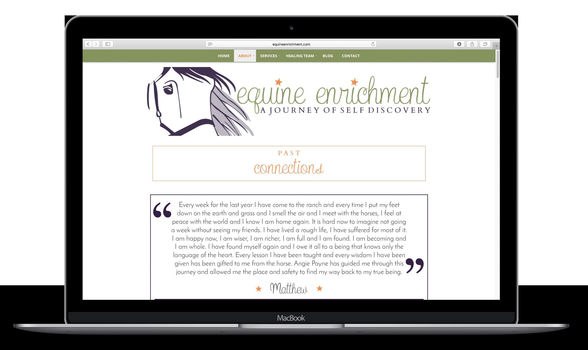 Equine Enrichment Testimonials Macbook Mockup.png