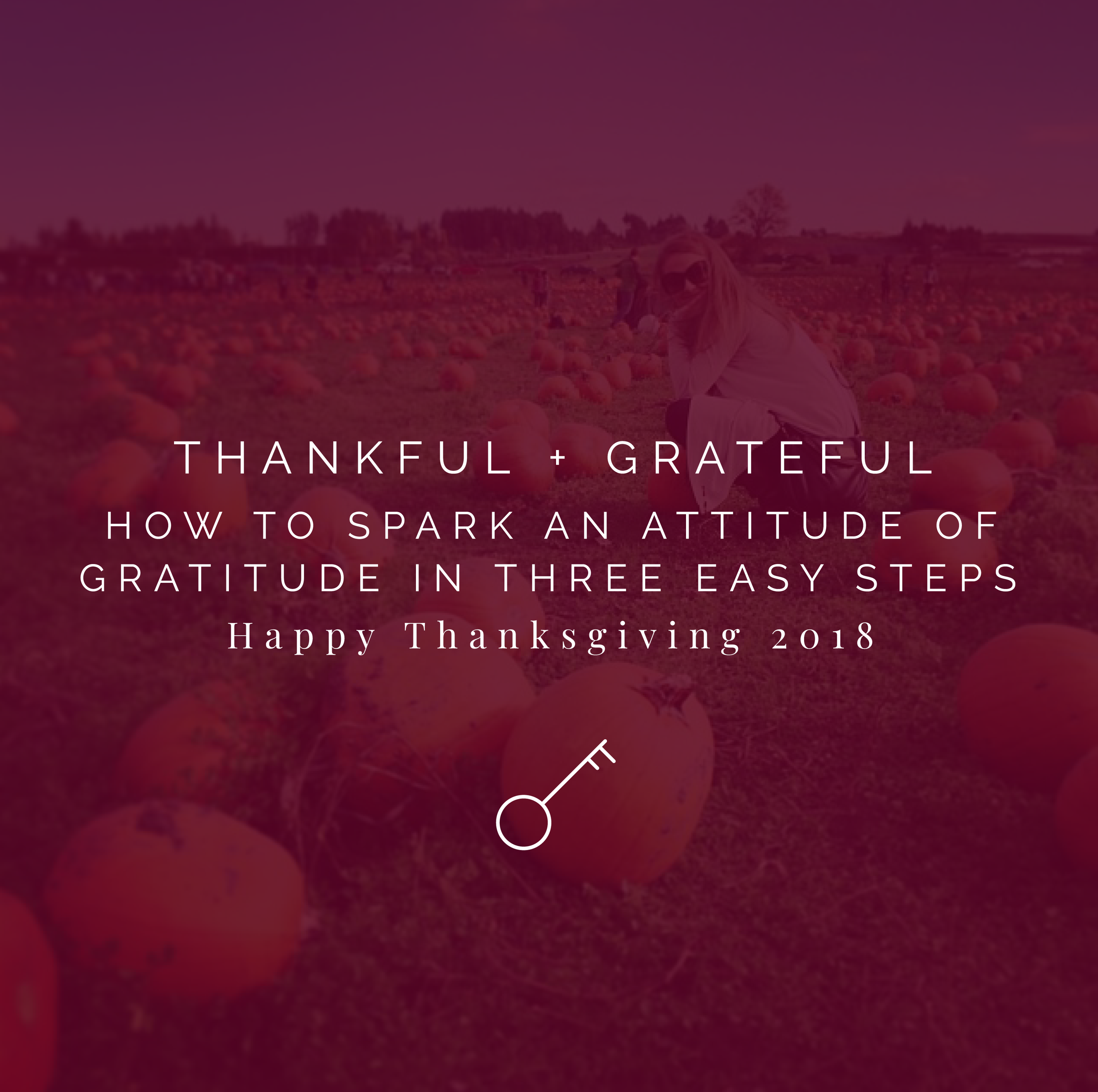 How to spark gratitude in three easy steps