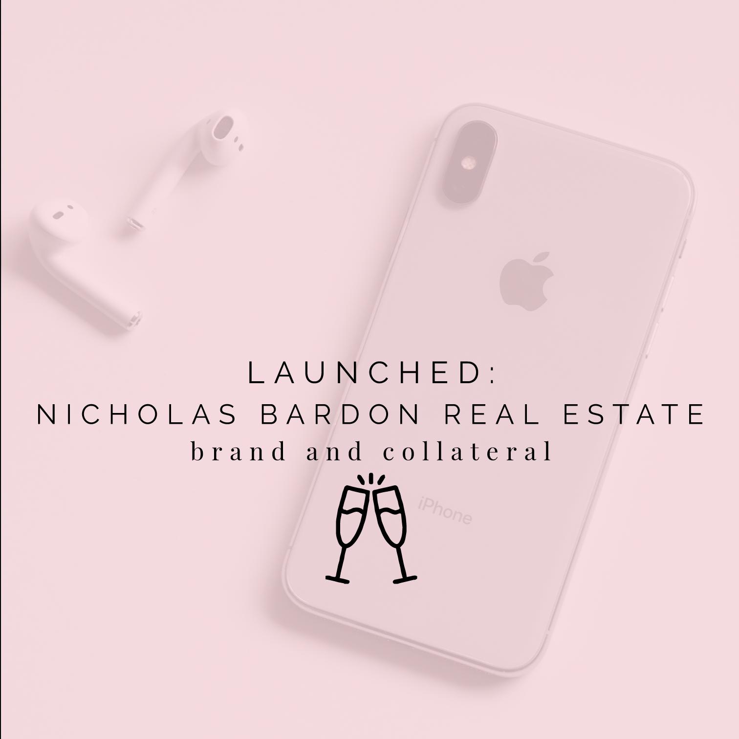 Launched: Nicholas Bardon