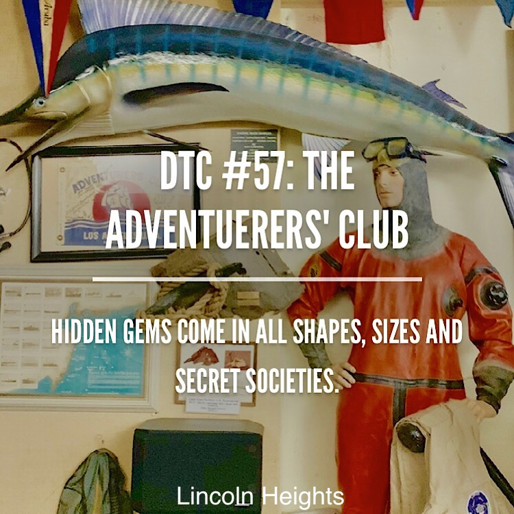 Enter a hidden gem thats been under your eyes at the adventurers club with members like Buzz Aldrin, then decompress with a beer at Lincoln Kitchen and Tap