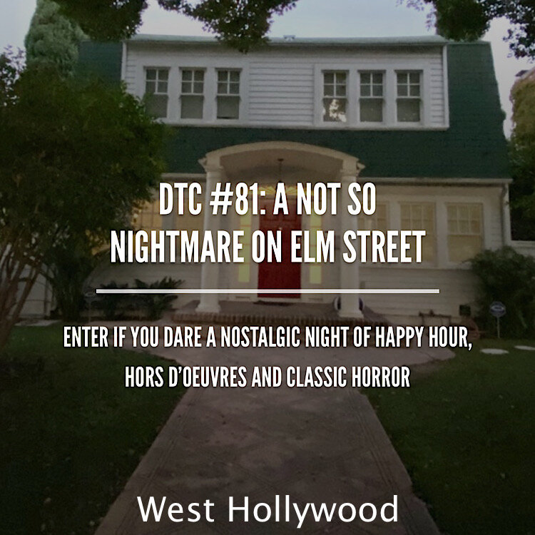 Halloween night with happy hour at Electric Owl then see Freddy Kruegers Nightmare on Elm Street House before pies on the patio of Pace Joint.
