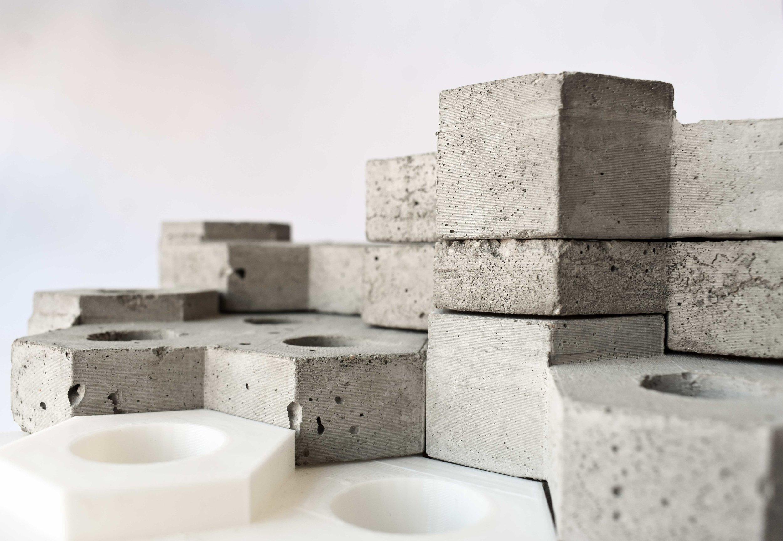 Concrete / 3D Printed Modules