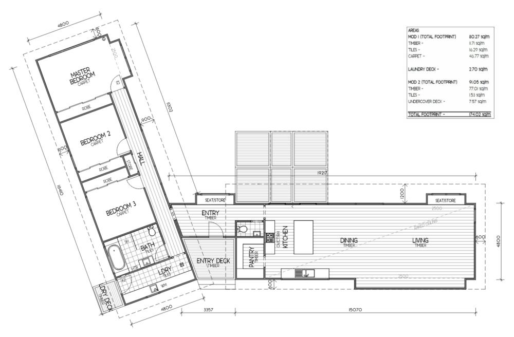 The Billabong, a Prominda-designed modular home.