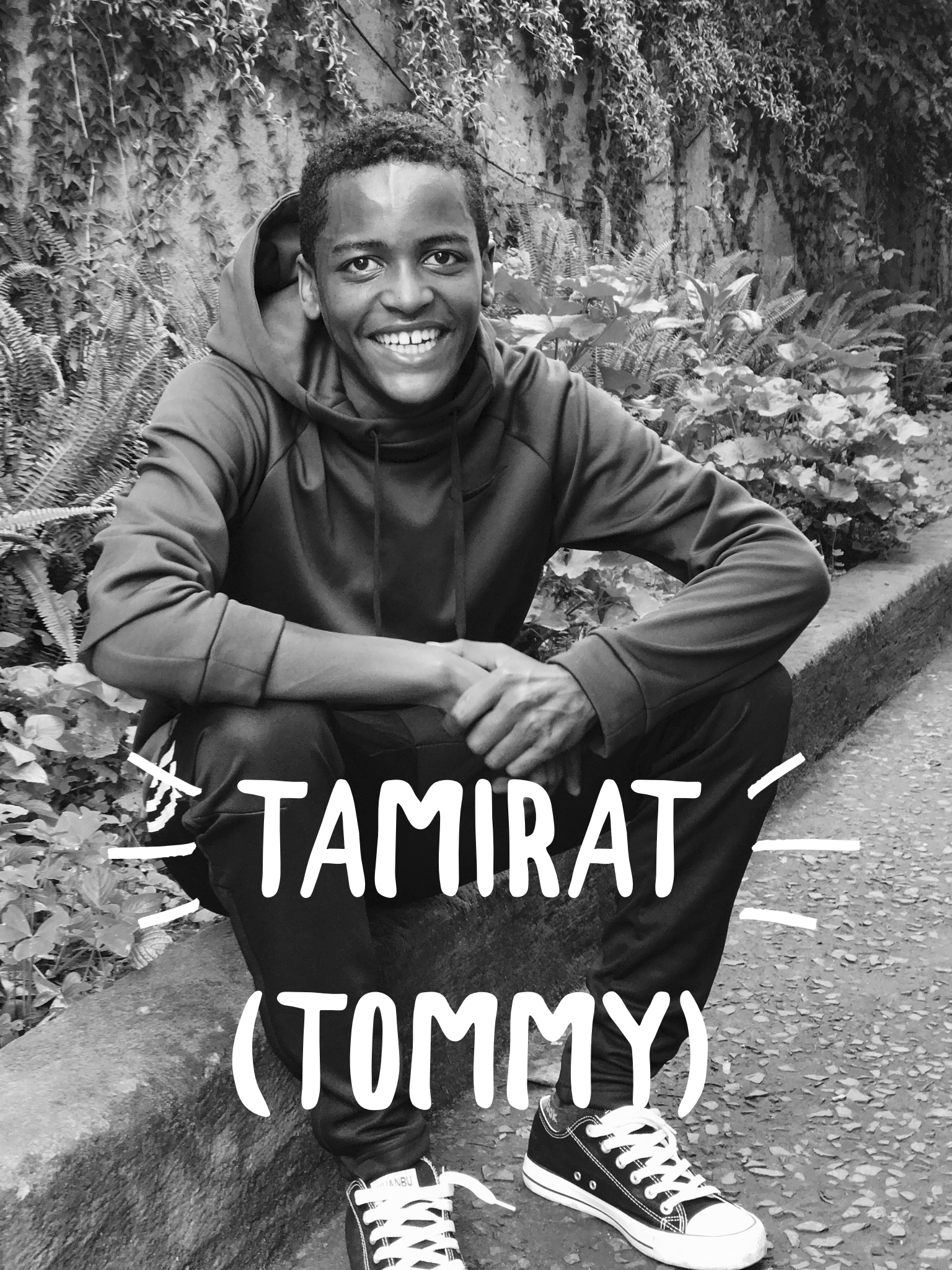 Meet Tamirat aka (Tommy) . This boy is pure sunshine. He always has a smile on his face and keeps everyone laughing. Tommy works hard in school and is growing into such a great leader. He has a big heart for people and is one of our greatest helpers. Please consider sponsoring.YOU truly can make a difference in the life of a child!