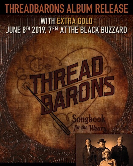 Hey folks, we're having an album release party, June 8th @blackbuzzardob. Be there!