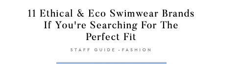 We were featured on the Good Trade's # 7 of 11 Ethical & Eco Swim Fashion Blog.  Read it here
