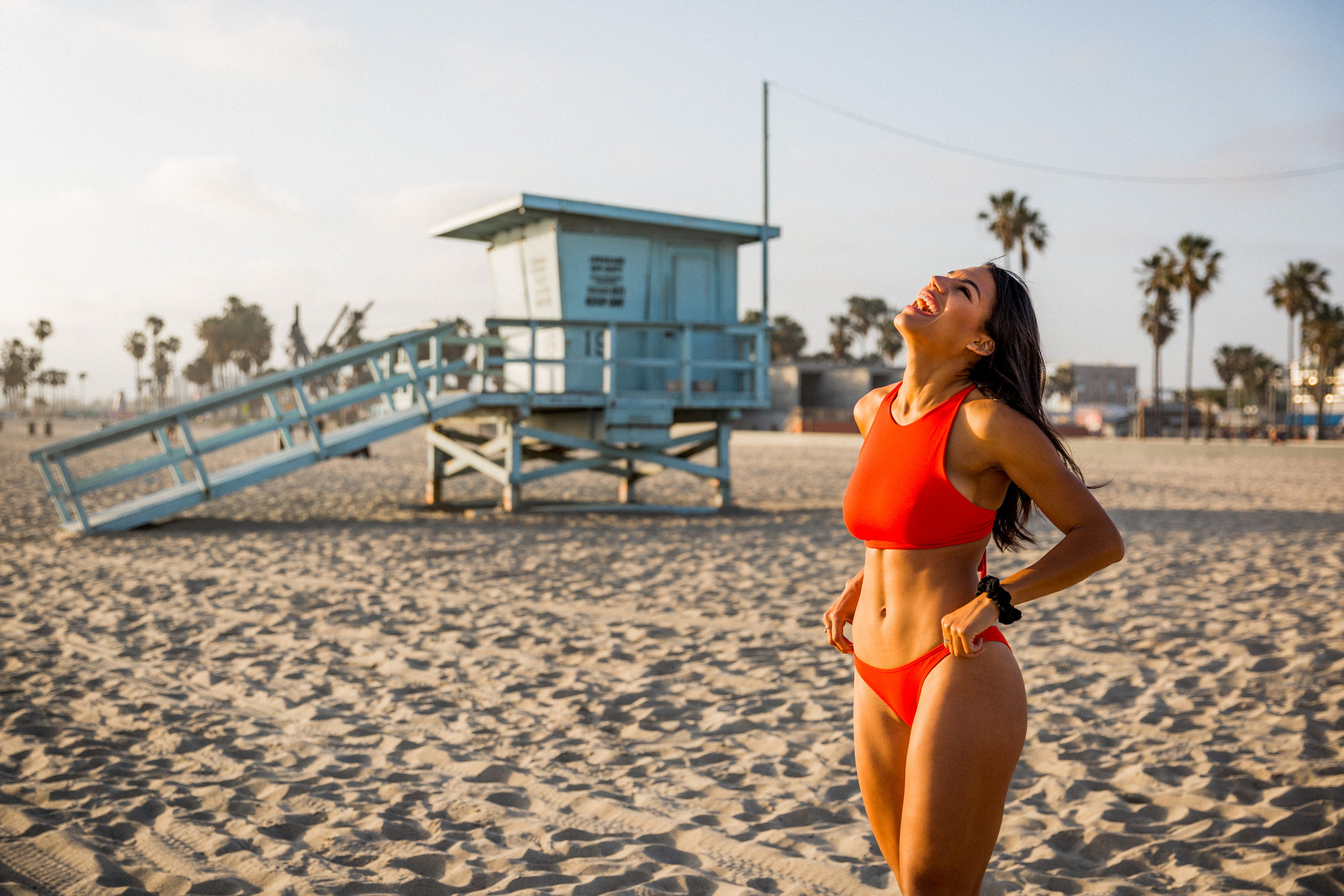 """The  Haute Halter  is going to be my key to a summer of successful beach looks.  The halter top offers amazing coverage that can be seamlessly transitioned from ocean swim to sunset stroll."" - Kendra Lauren  -continue reading.   Photography by Stephanie Lohde"