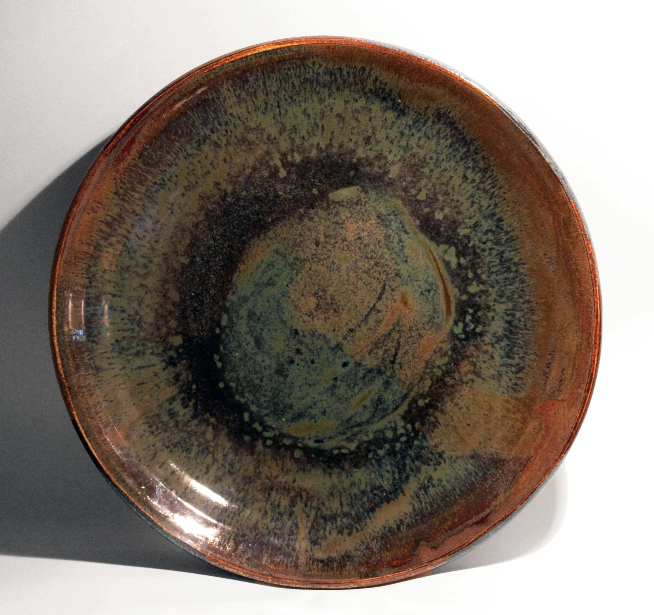 Stoneware, 12 x 2 inches, 2016