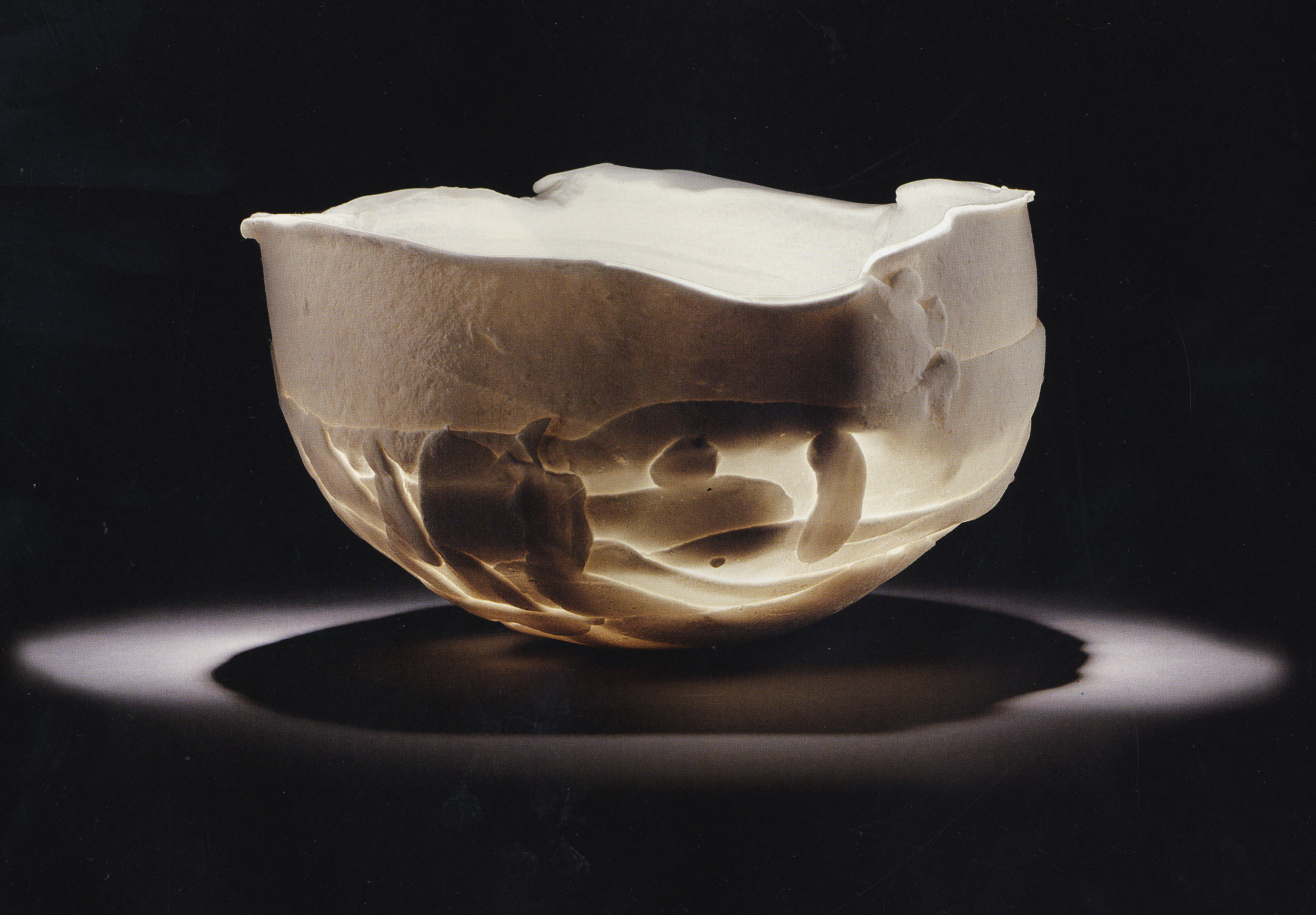 Rudolf Staffel,  Bowl,  1969, Philadelphia Museum of Art.