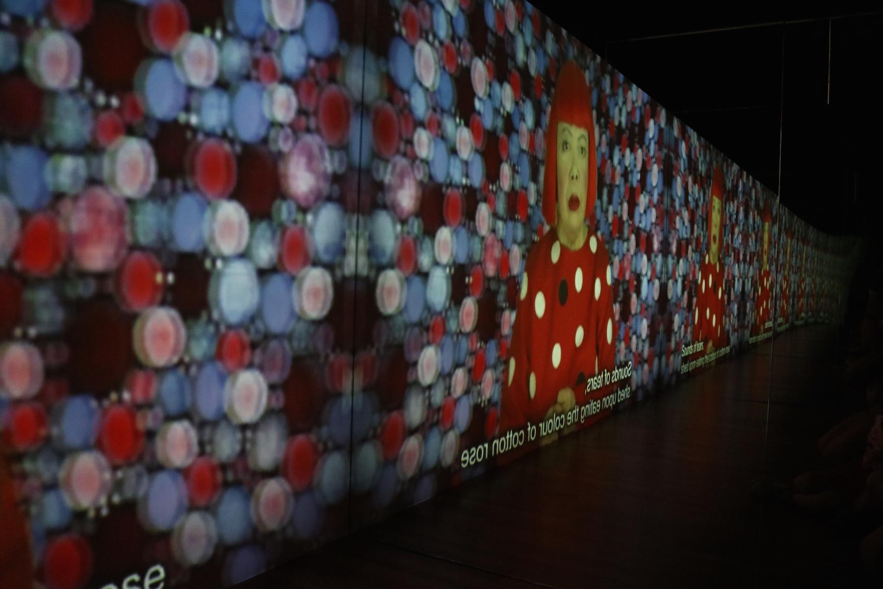 """Manhattan Suicide Addict"" video installation"