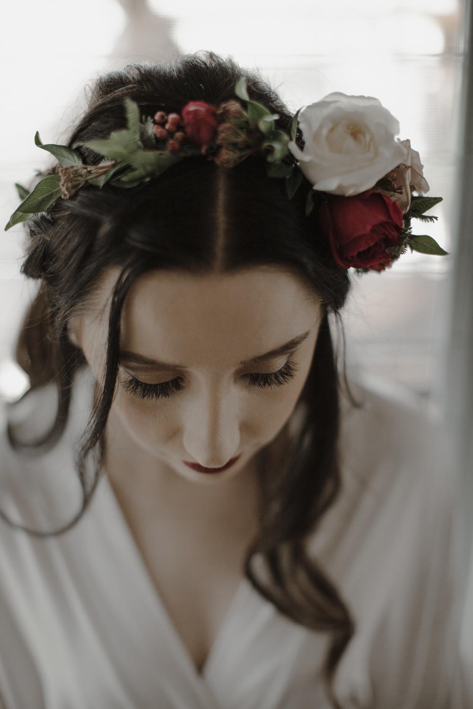 Flower crown Sunshine Coast Wedding