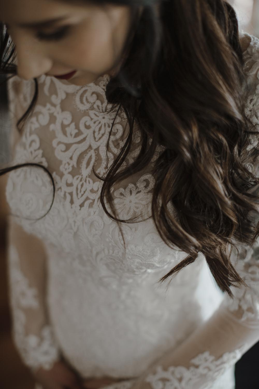 Close up wedding photography details
