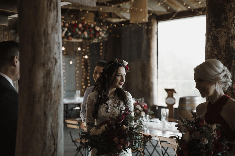 Bride at Yandina Wedding