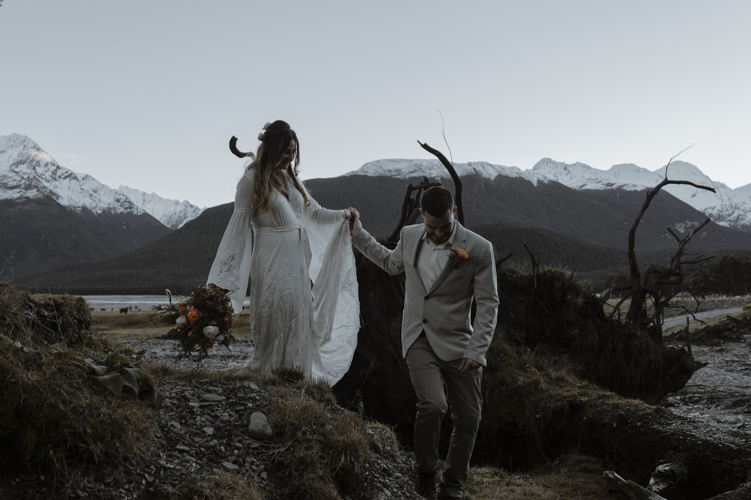 Queenstown Elopement New Zealand
