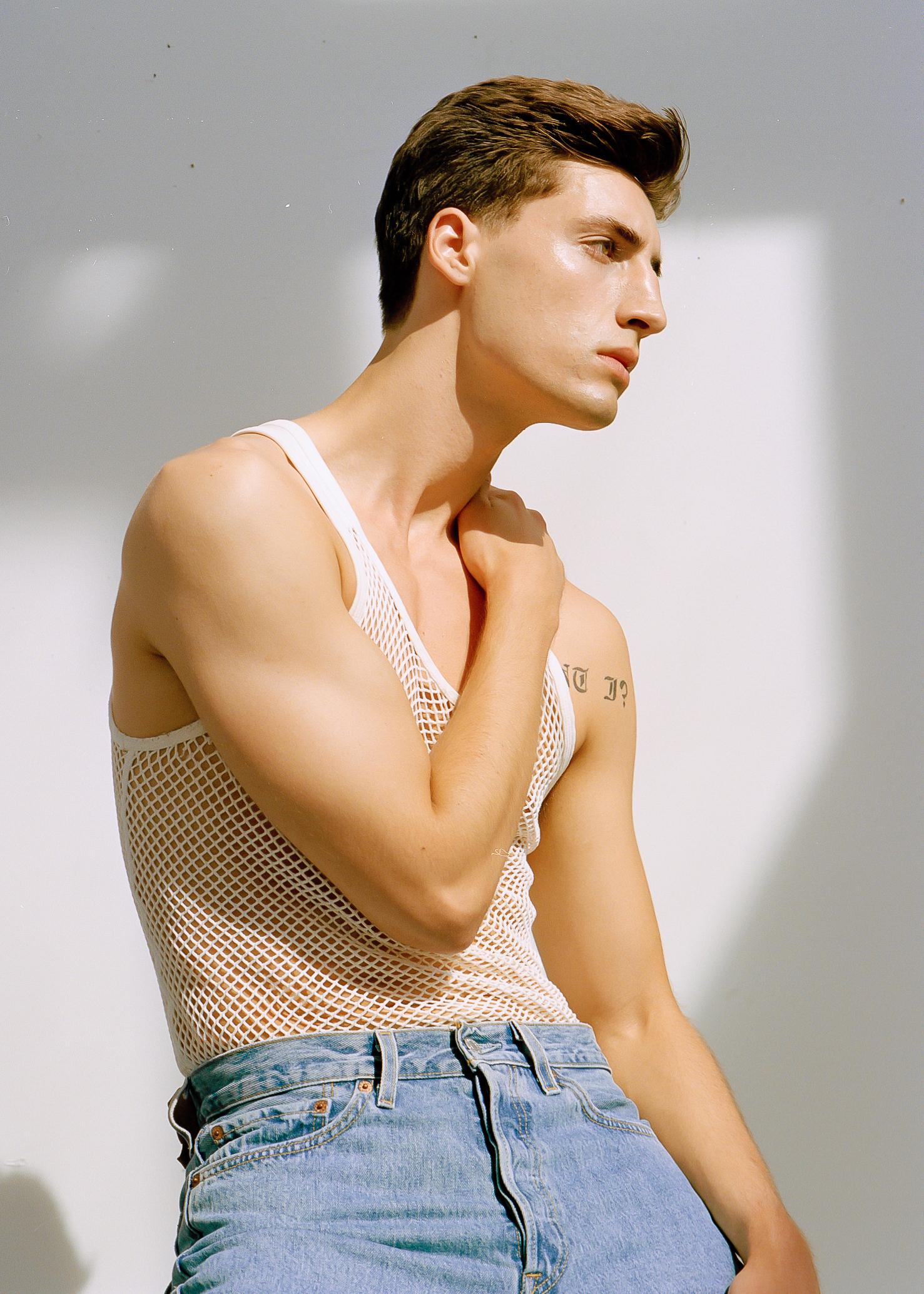 Photographer: Rydel Cerezo  Model: Aidan Correia of Richards Models  Styling: Gemini Rising Vintage