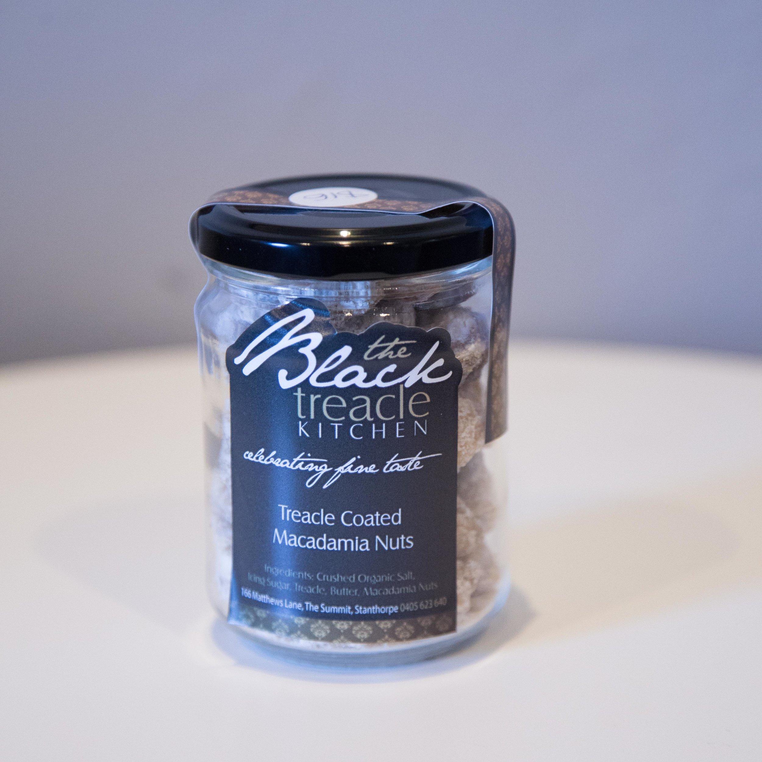 Black Kitchen Treacle Macadamia Nuts - $16
